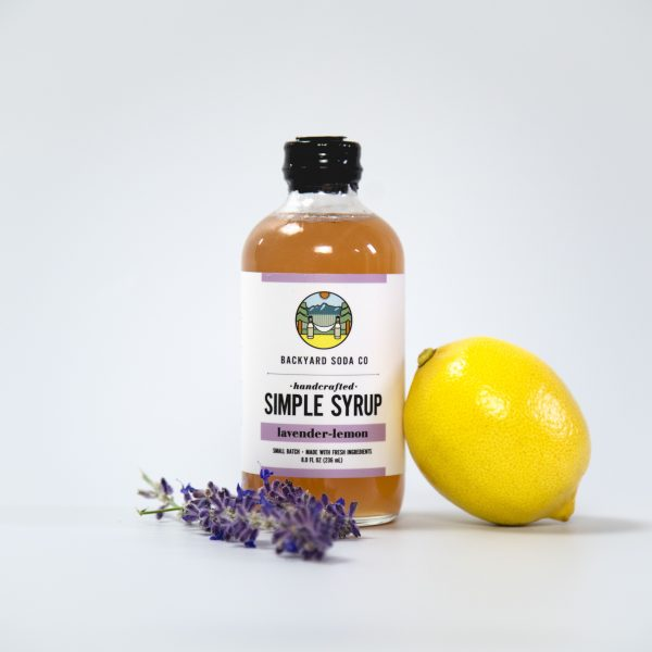 Lavender Lemon Simple Syrup