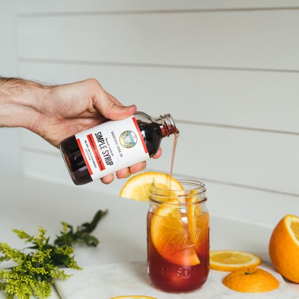 Pomegranate Orange Simple Syrup