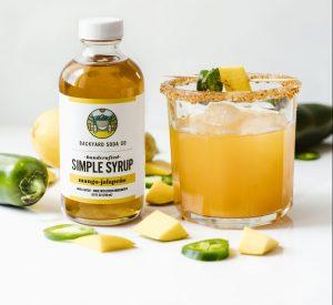 Mango jalapeno SImple Syrup