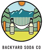 Logo of the website, backyard soda