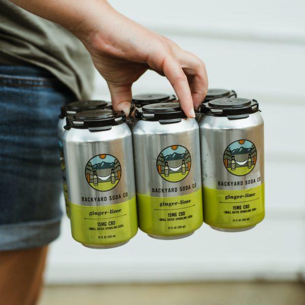 Ginger Lime CBD Soda