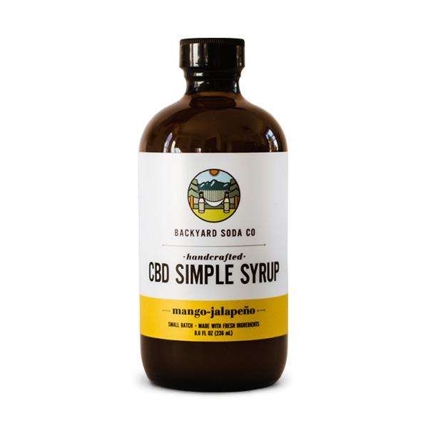 Mango Jalapeno CBD SImple Syrup