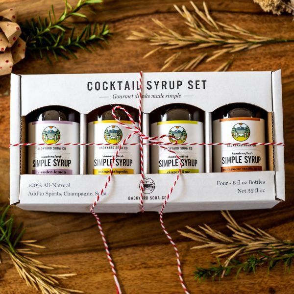 simple syrup cocktail gift set