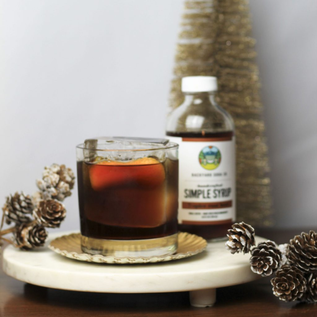 Gingerbread Simple Syrup