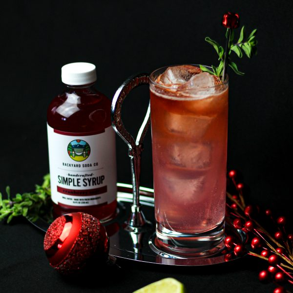 Cranberry Sage Simple Syrup