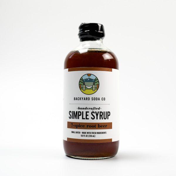 Root Beer Simple Syrup