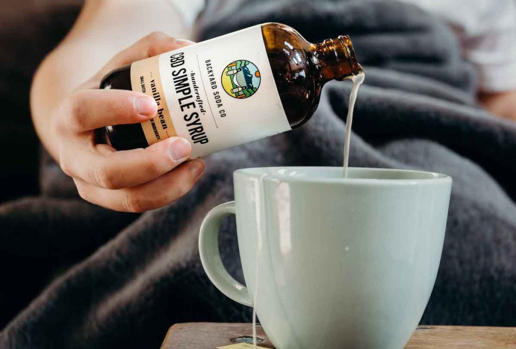 CBD Vanilla Simple Syrup