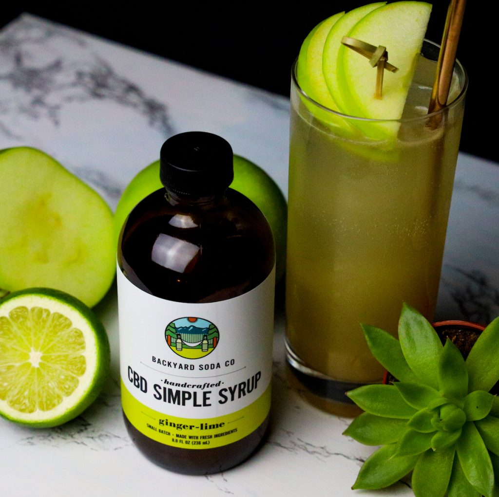 CBD Simple Syrup