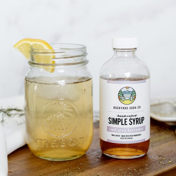 Earl Grey Simple Syrup