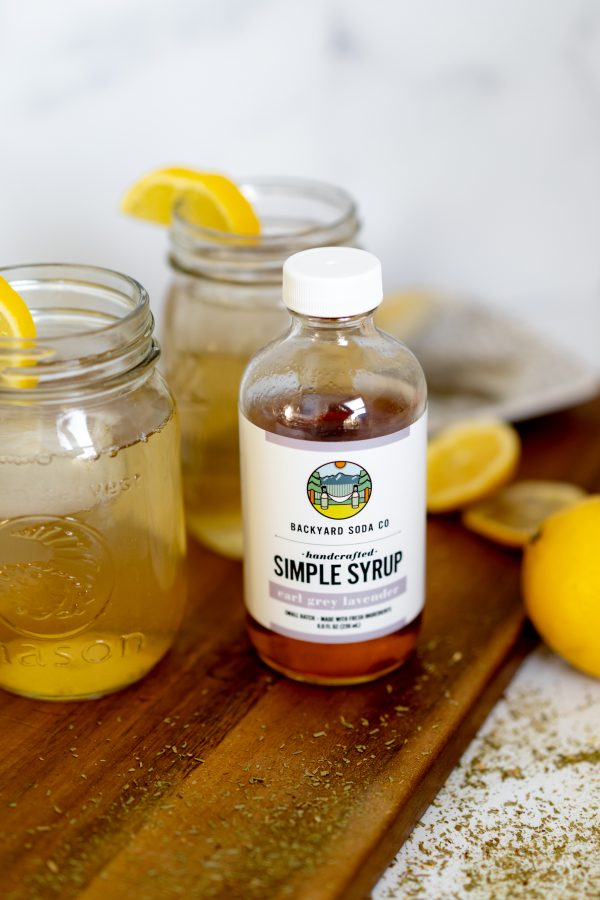 Earl Grey Simple Syrup