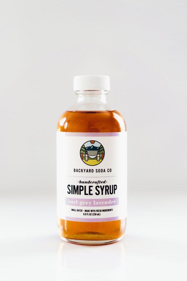 Earl Grey Lavender Simple Syrup